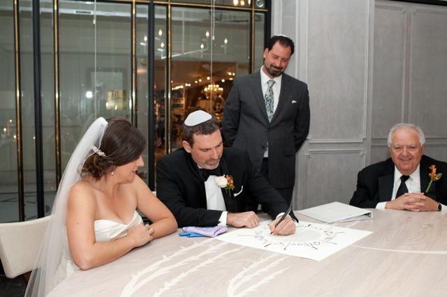 Kevin And Nicole Ketubah Reform Wedding Rabbi