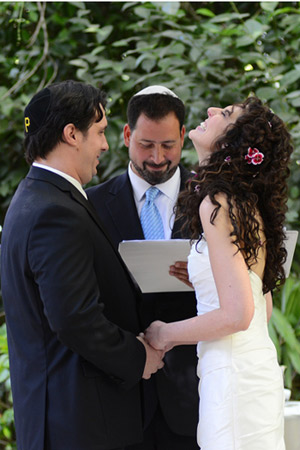 Reform Wedding Rabbi Spike Anderson Officiates Jewish Wedding