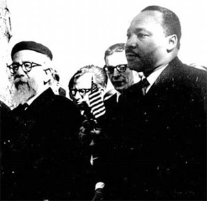 Praying with your feet Heschel MLK