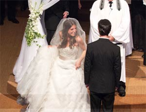 Jewish Wedding, The Ceremony - Circling